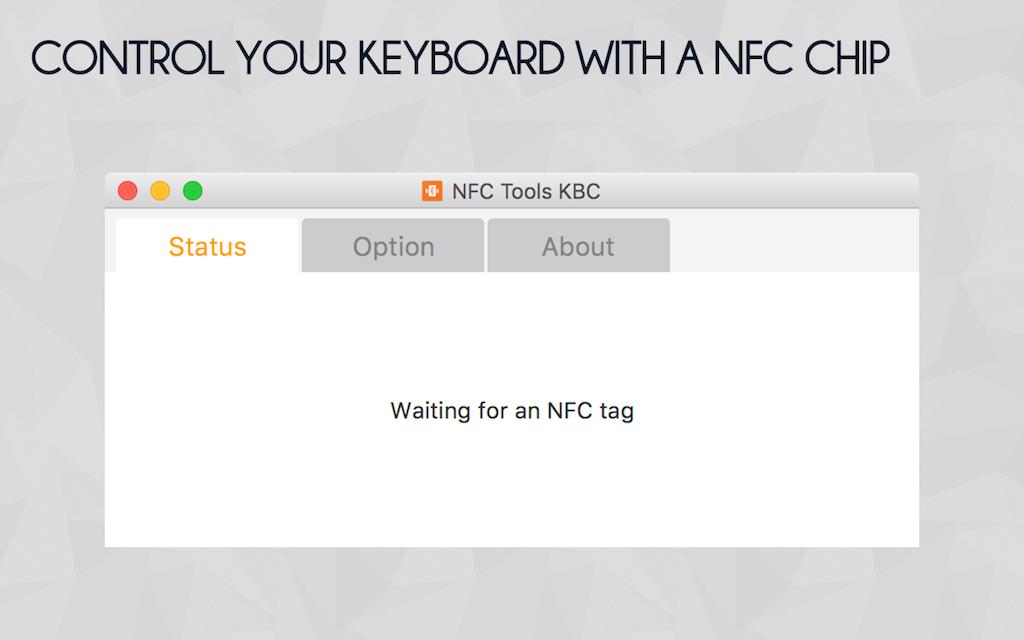 NFC Tools KBC - PC / MAC